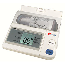 Omron Automatic Blood Pressure Monitor with Intellisense Price: $99.95