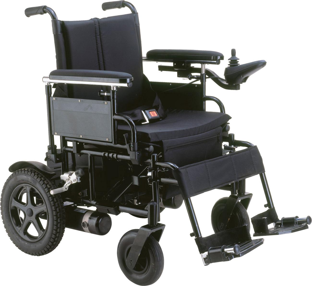 Cirrus Plus EC Folding Rear-Wheel Drive Power Wheelchair