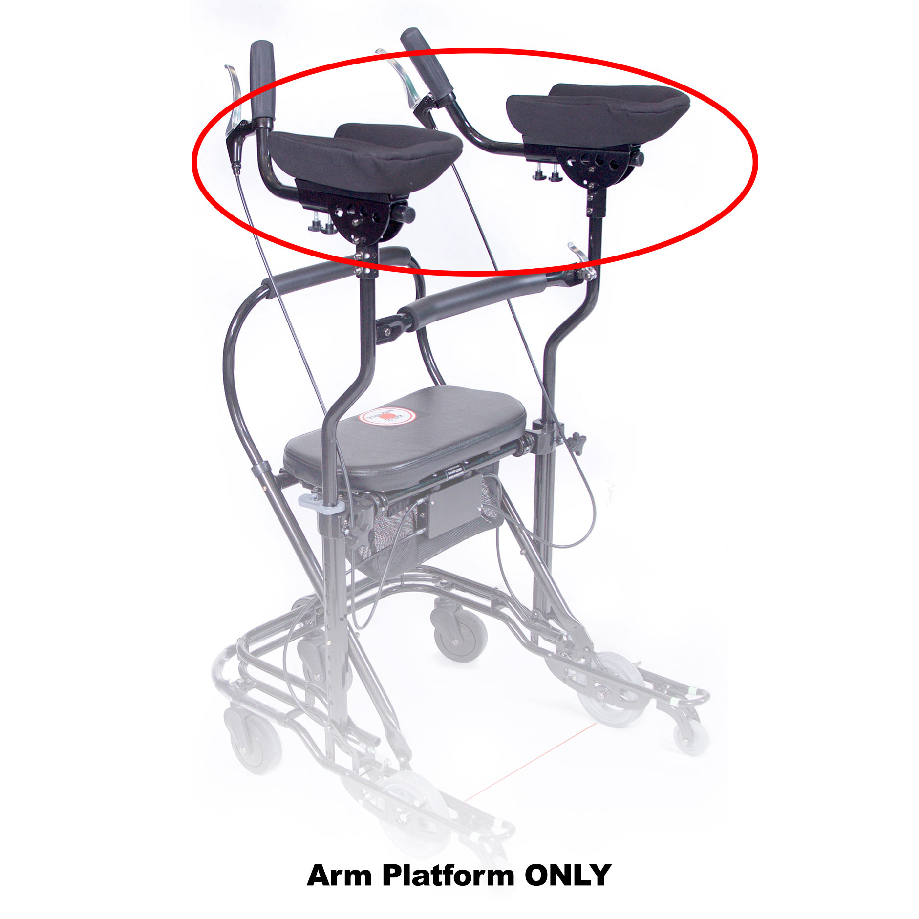 Arm Platforms for U-Step Walker
