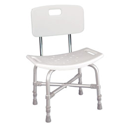 Deluxe Heavy Duty Bath Bench with Back