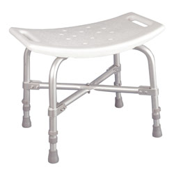 Deluxe Heavy Duty Bath Bench - No Back