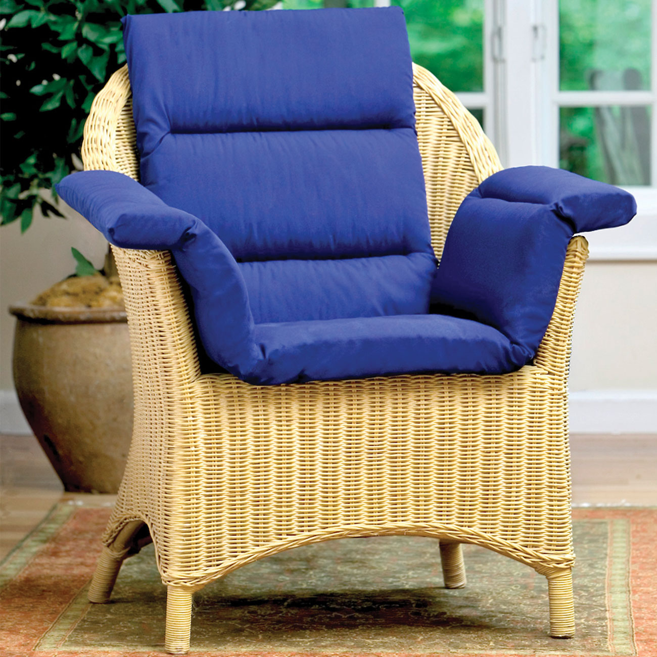 Total Chair Cushion - Blue Price: $36.95