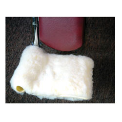 Synthetic Shearling Wheelchair Footrest Covers Price: $21.99
