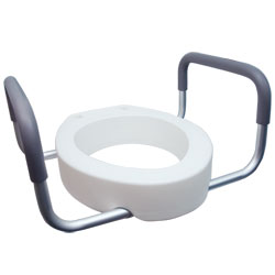 Premium Seat Rizer with Removable Arms - Elongated Toilet Price: $69.95