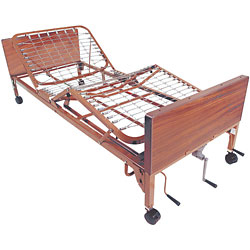 Multi-Height Manual Bed -full length  side rails