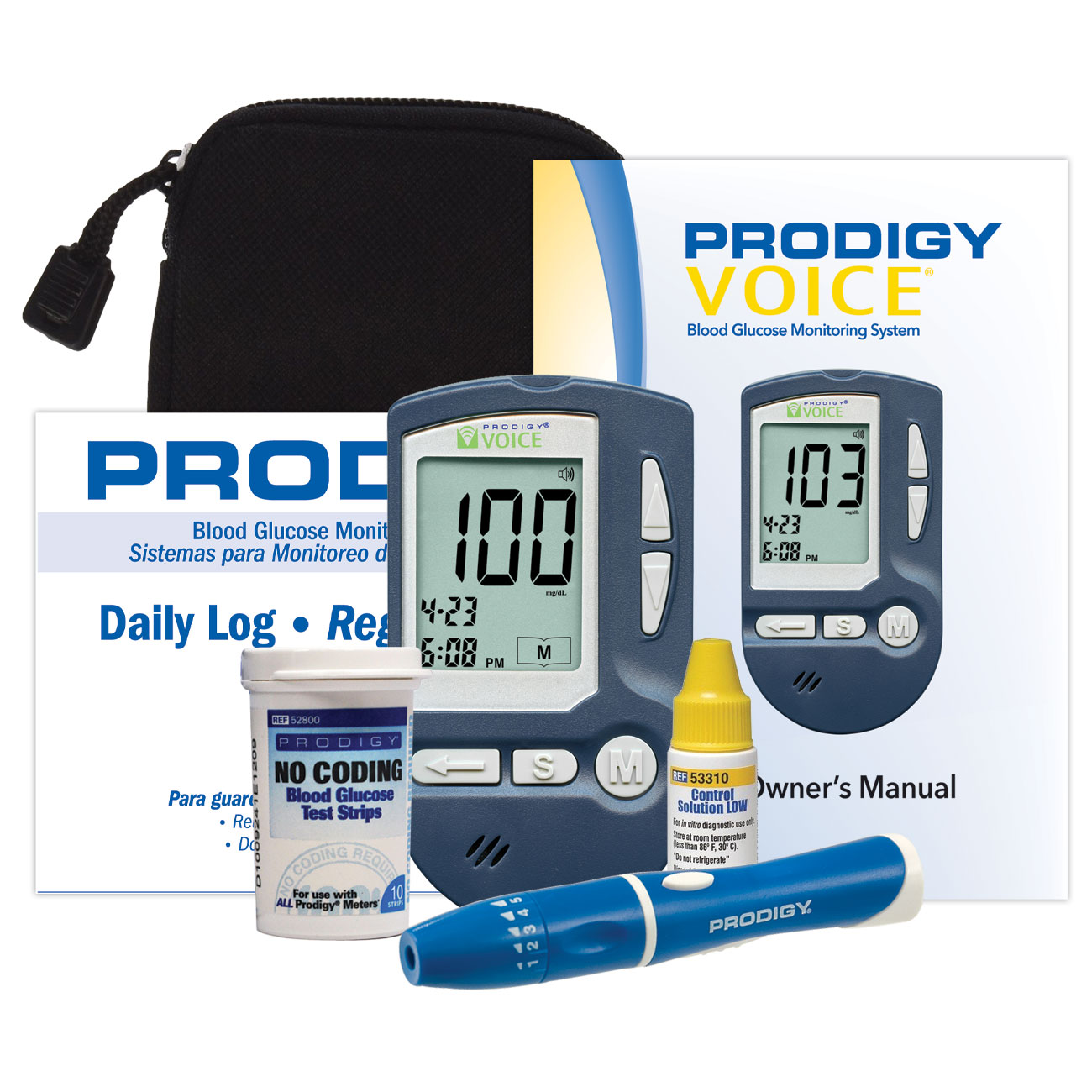 Voice Talking Blood Glucose Monitor Kit