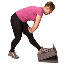 FabStretch 4-Level Exercise Incline Board - 0 to 35-Degree Elevation