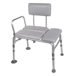 Padded Seat Transfer Bench - click to view larger image