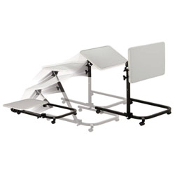 Drive Deluxe Pivot and Tilt Overbed Table