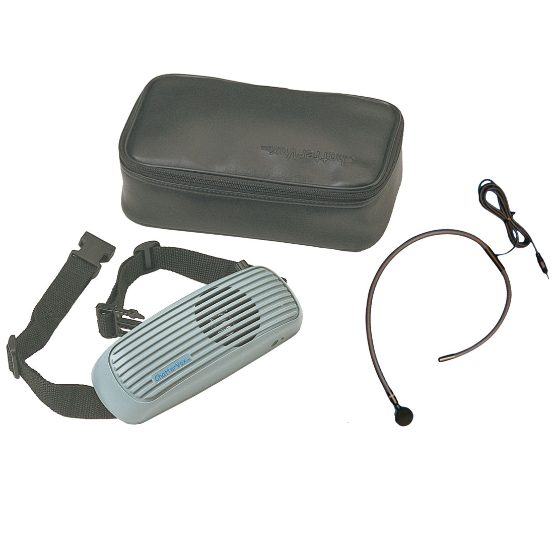 ChatterVOX Pro Voice Amplifier with Collar Mic
