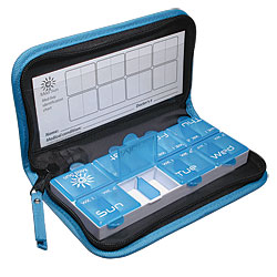 Seven Day Wallet Pill Organizer Price: $11.95