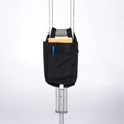 Crutch Bag- Black Nylon