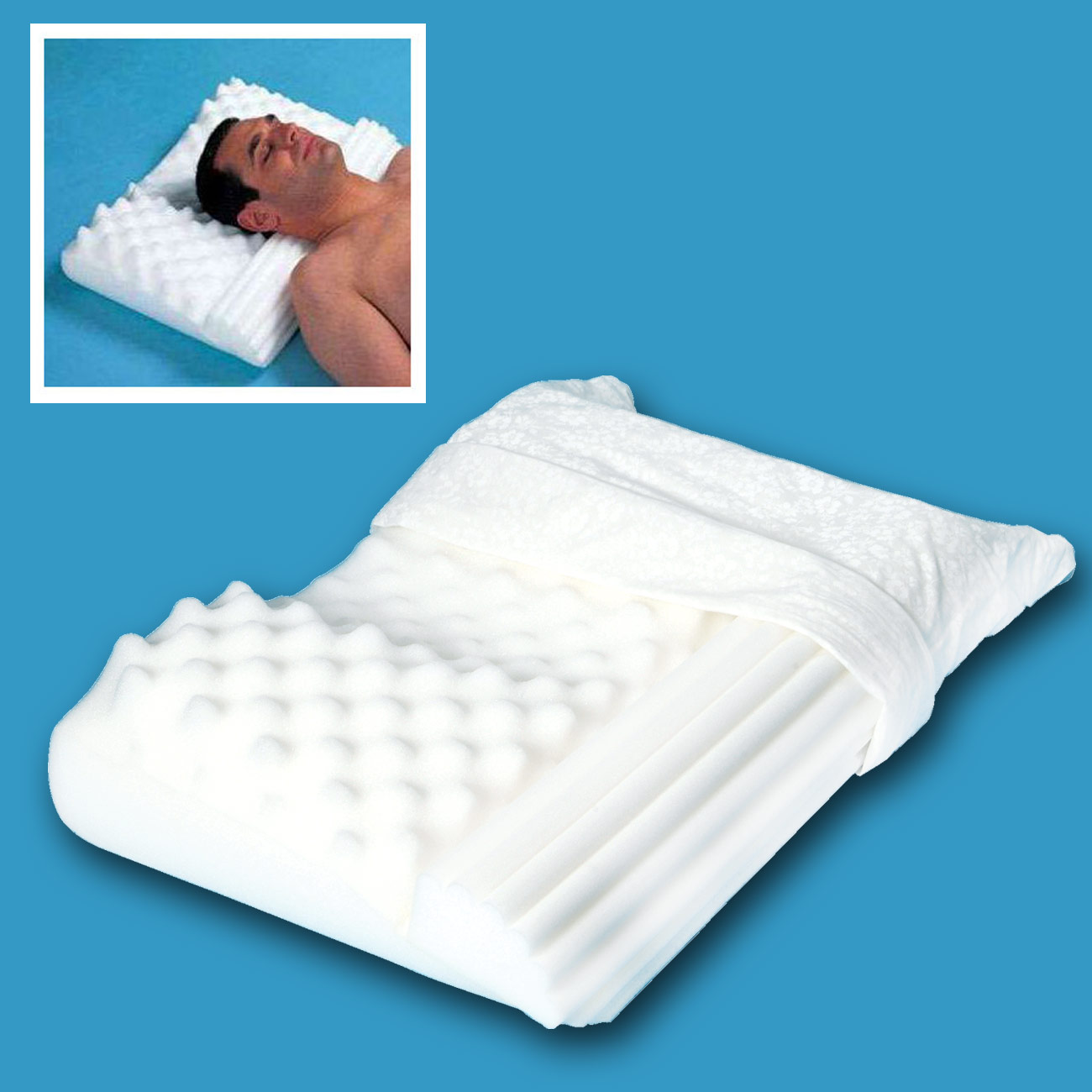 Softeze No Snore Pillow