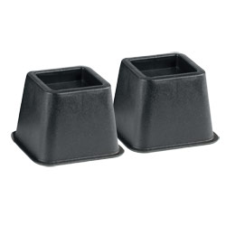 Bed and Chair Risers - One Pair - 4-inch