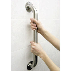 HealthCraft Grab Bar, Stainless, Smooth, No Flange 1.25 by 18 inches Price: $21.00
