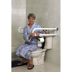 HealthCraft P.T. Rail Floor Mast - Toilet Roll Holder Price: $30.00