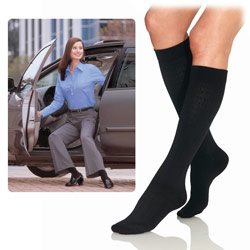 Jobst Black Pattern Women Knee High-Ex.Small Price: $21.95