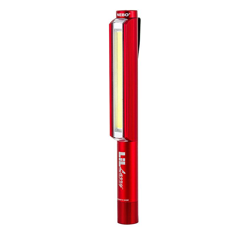 Little Larry 250 Lumen COB LED Power Work Flash Light- Red