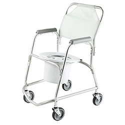 Shower Chair - Mobile Commode Price: $154.95