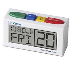 Talking Alarm Clock Medication Reminder