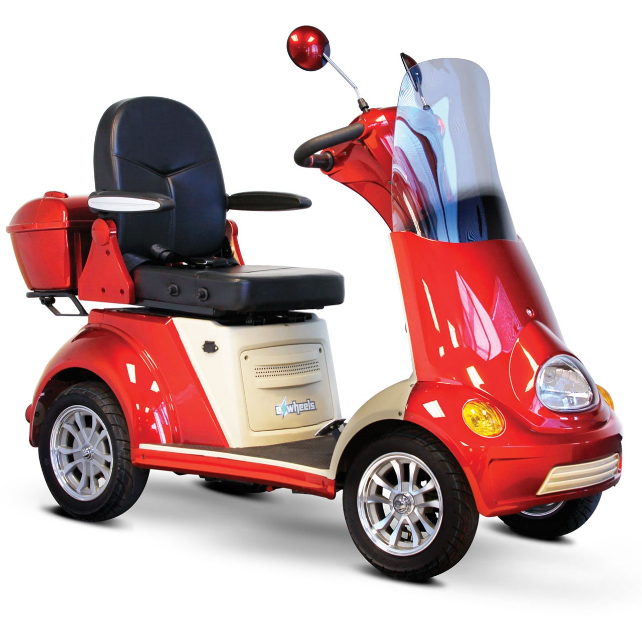 EWheels EW-52 Powerful Four-Wheel Luxury Scooter