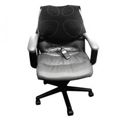 Vivitar Shiatsu Vibrating Massage Cushion with Heat - click to view larger image