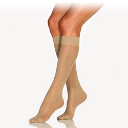 Beige Jobst Ultrasheer Knee High Stocking-Medium Price: $12.95
