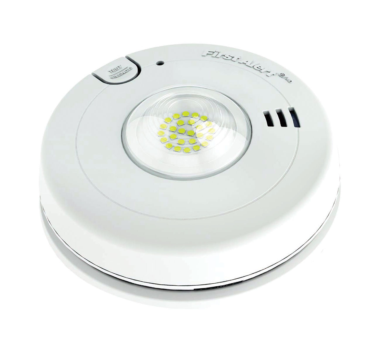 First Alert Smoke Alarm with LED Strobe Light for the Hearing Impaired