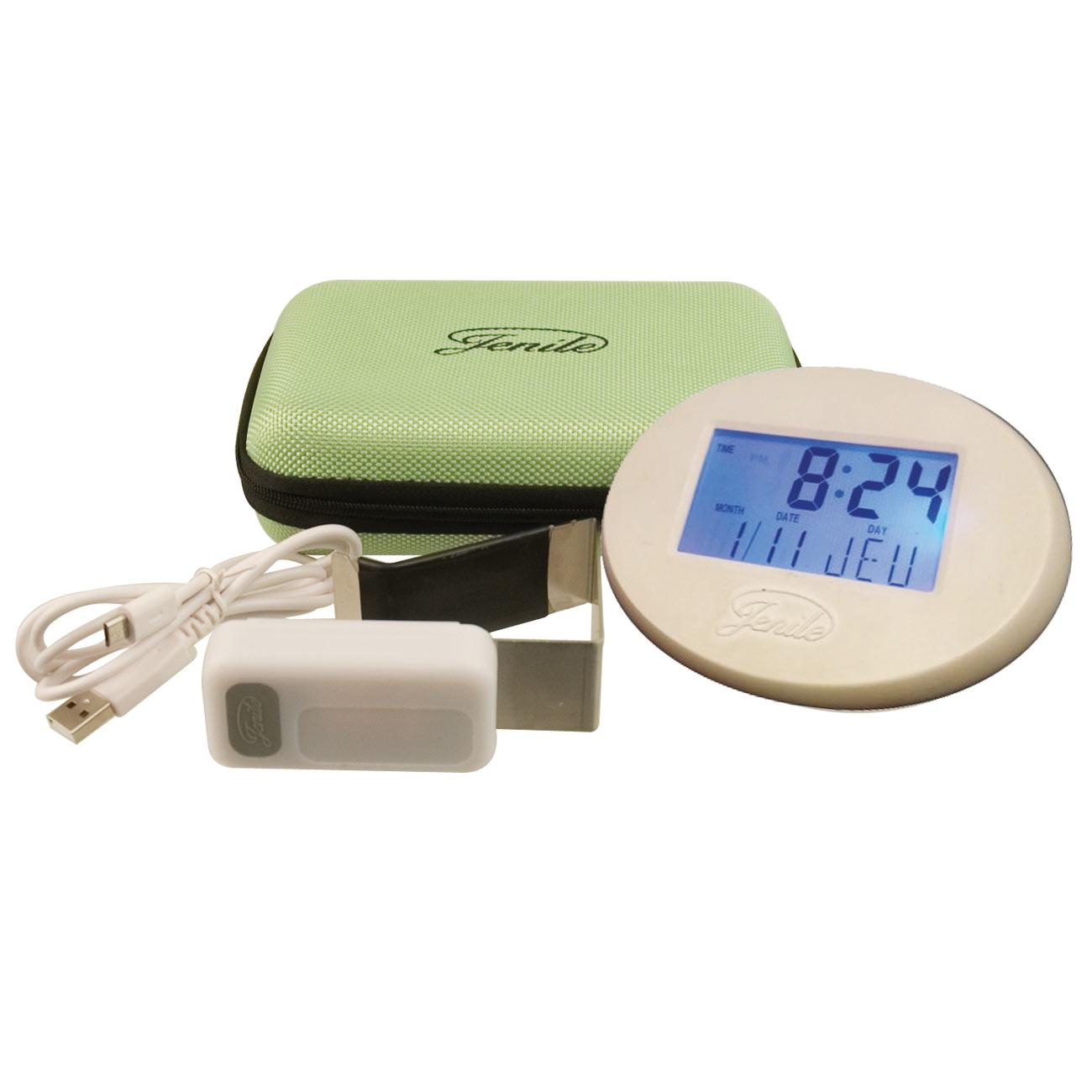 Jenile Portable Wireless Doorbell Alarm Clock Travel Pack