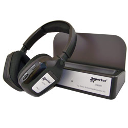 SuperEarTV 2-Channel TV Listening System Price: $74.95