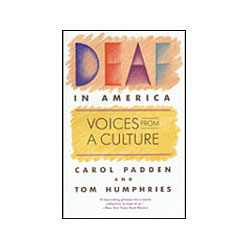 Book - Deaf in America Price: $13.50