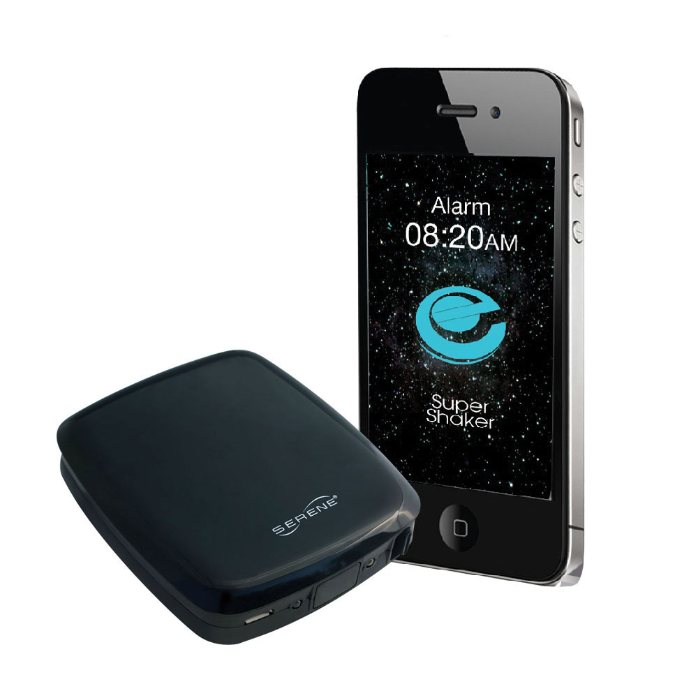 Wireless Super Bed Shaker Bluetooth Alarm Clock