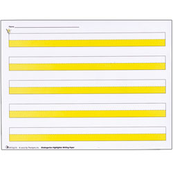 Kindergarten Highlighter Writing Paper -Package of 50