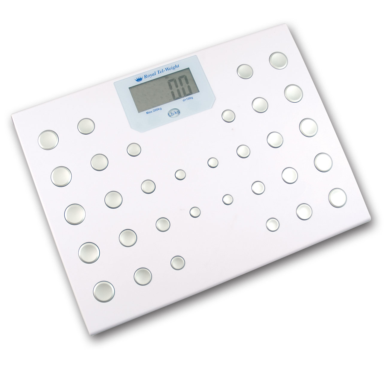 Talking Bath Scale-English-Spanish - 440-lb Capacity