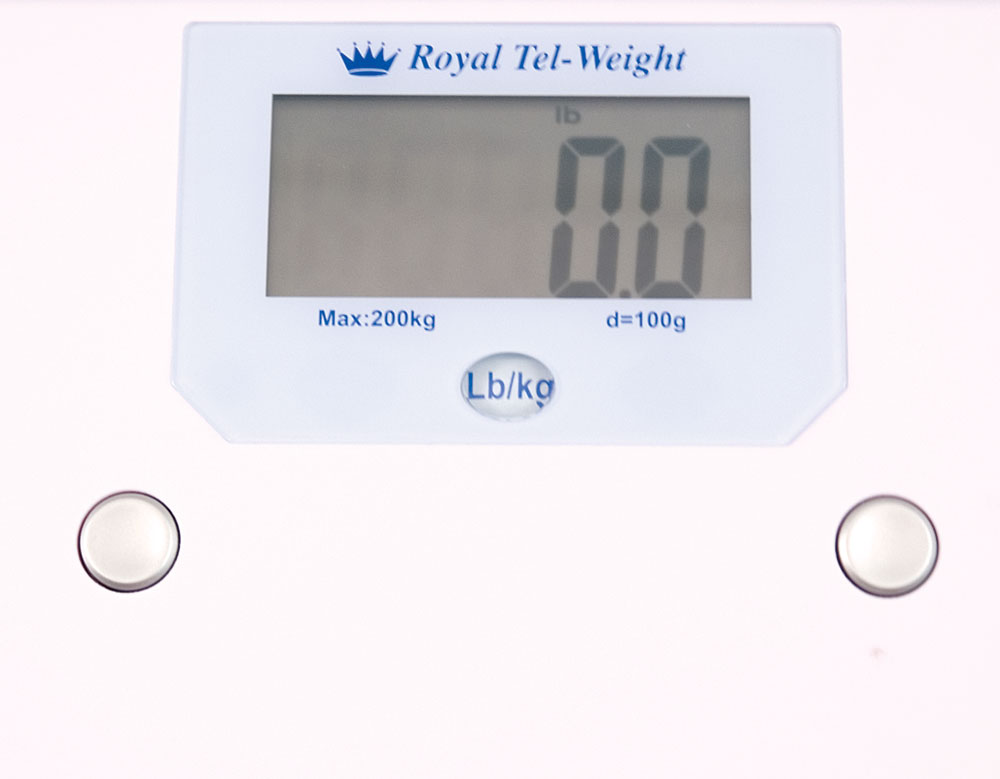 Talking Bath Scale- English and Spanish - 440-lb Capacity