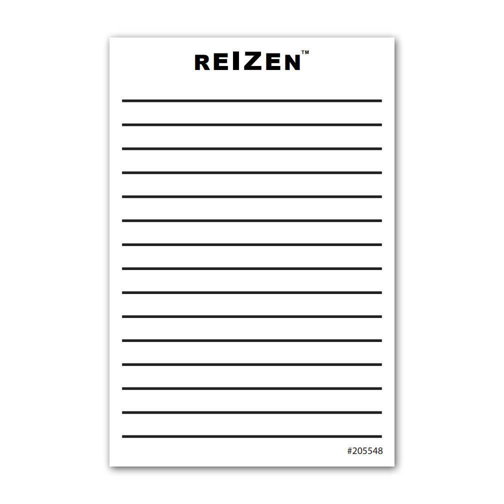 Stick-On Notepad 4x6 50 Sheets