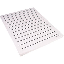 Low Vision Writing Paper - Bold Line (5 pads) Price: $14.25