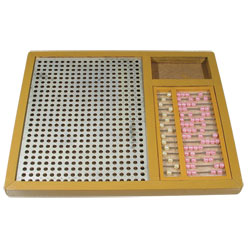 Combined Arithmetic and Abacus Frame Price: $29.95