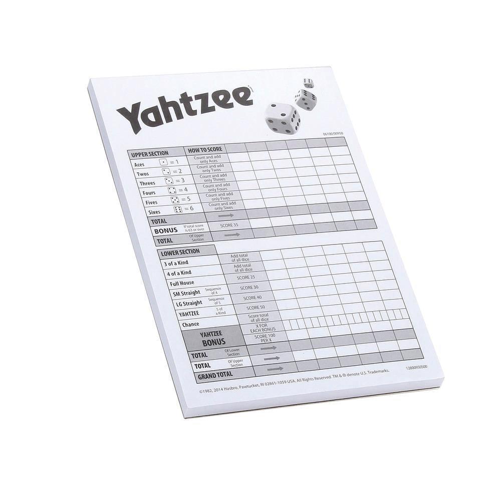 Yahtzee Score Cards - 80
