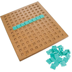 Tactile-Braille Crossword Puzzle Game