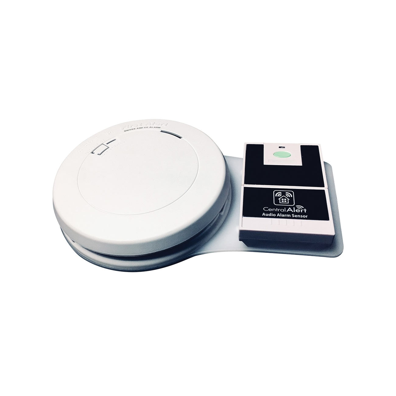 Serene Combination CO and Smoke Detector with Wireless Transmitter