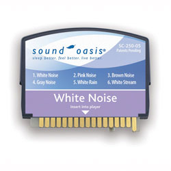White Noise Sound Card for Sound Oasis System - click to view larger image