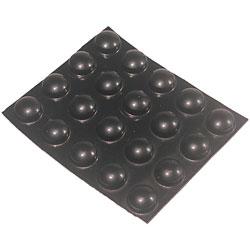Bump Dots - Medium, Black, Round
