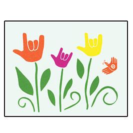 I Love You Garden