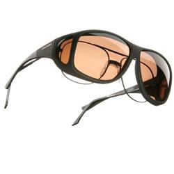Cocoons XL Aviator OveRx Sunwear-Blk Fr-Copper Lens