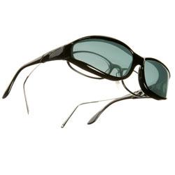 Vistana Sunglasses-Small-Black Frame-Gray Lens