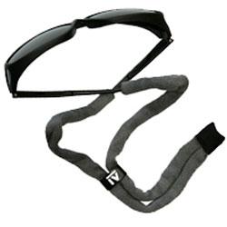 Adjustable Black Cotton Eyewear Cord