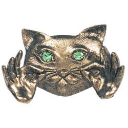 Cat Pin - Gold