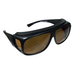 Fitovers Sunglasses - Navigator Tortoise-Amber-Med Price: $59.95