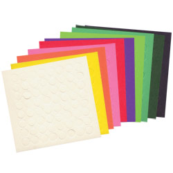 MaxiTouch Dots- Package of 640 - Assorted Colors